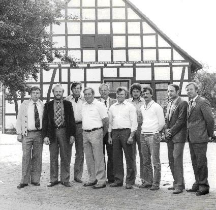 WGN Gründungsmitglieder 1981